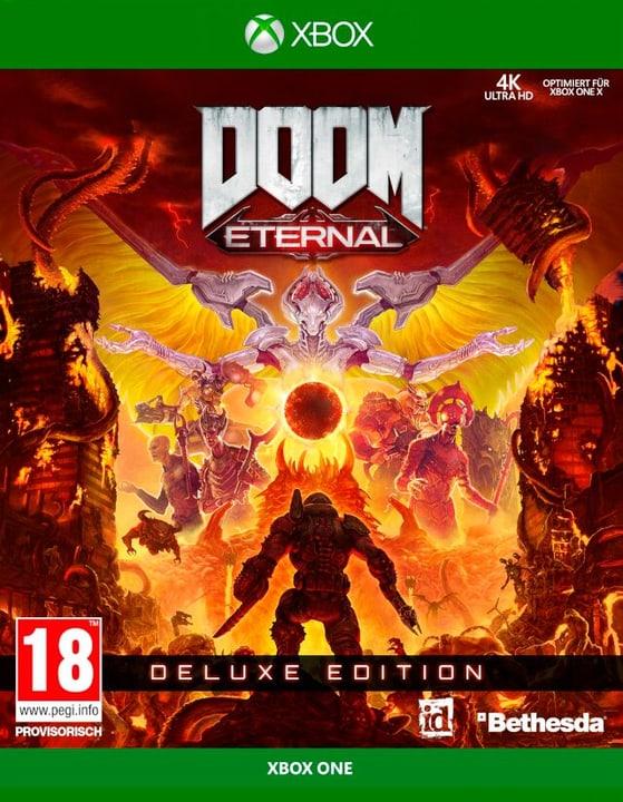 Xbox One - DOOM Eternal Deluxe Edition F Box 785300147333 Photo no. 1