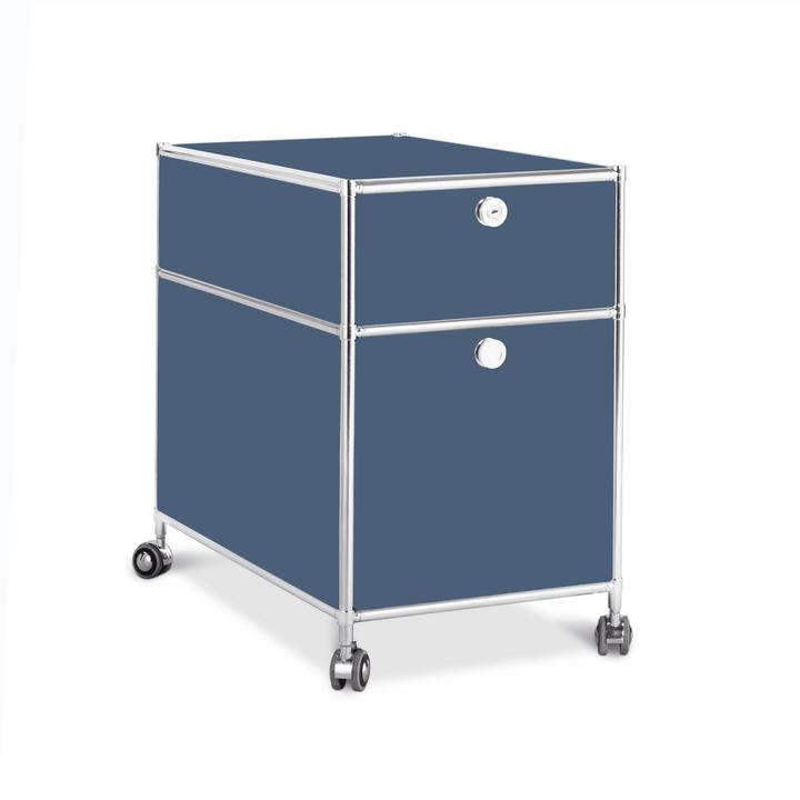 QUADRO Caisson 364241300042 Dimensions L: 42.0 cm x P: 77.0 cm x H: 67.5 cm Couleur Bleu foncé Photo no. 1