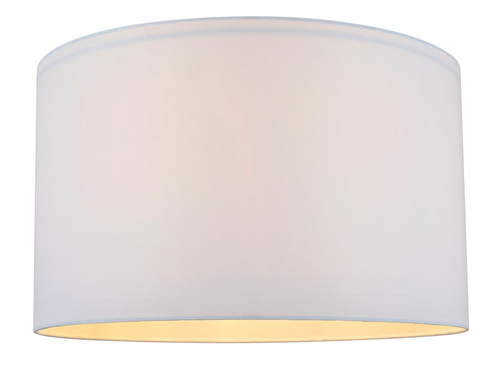 BLING Schirm 50cm weiss 420183205010 Farbe Weiss Grösse H: 30.0 cm x D: 50.0 cm Bild Nr. 1