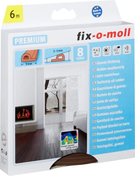 P-Profil Gummi-Dichtung Fix-O-Moll 673005600000 Farbe Braun Bild Nr. 1
