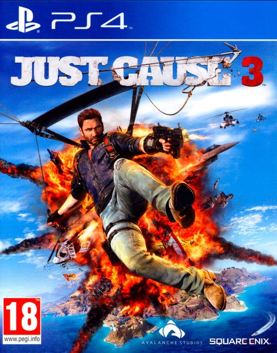 PS4 - Just Cause 3 Physisch (Box) 785300129948 Bild Nr. 1