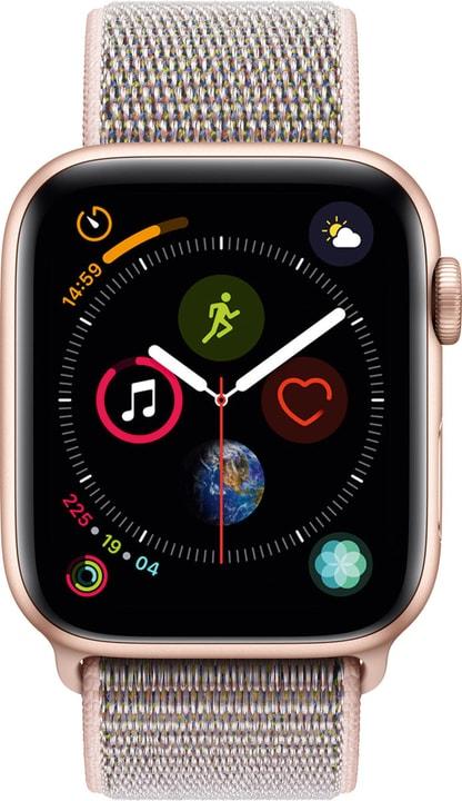 Watch Serie 4 44mm GPS gold Aluminum Pink Sand Sport Loop Smartwatch Apple 798456300000 Bild Nr. 1