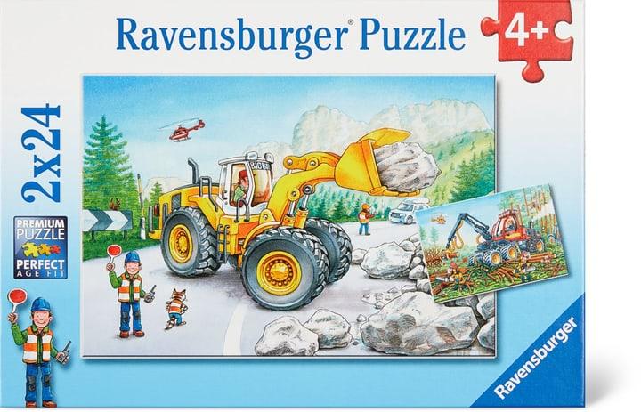 Travaux et tracteurs Ravensburger Puzzle 748975800000 Photo no. 1