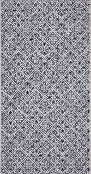 ULYSSES Teppich 412021108040 Farbe blau Grösse B: 80.0 cm x T: 150.0 cm Bild Nr. 1