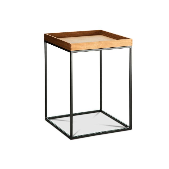 COFFEE table d'appoint 360974800000 Dimensions L: 40.0 cm x P: 40.0 cm x H: 54.0 cm Couleur Chêne Photo no. 1