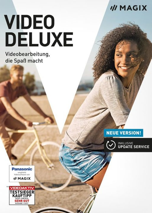 PC - Video deluxe 2018 (D) Fisico (Box) Magix 785300129429 N. figura 1