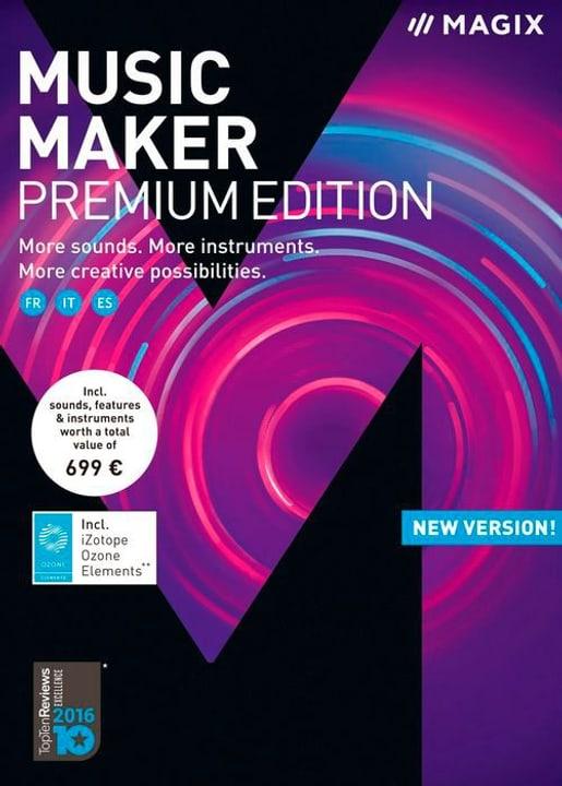 PC - Music Maker Premium 2018 (F/I) Physique (Box) Magix 785300129423 Photo no. 1