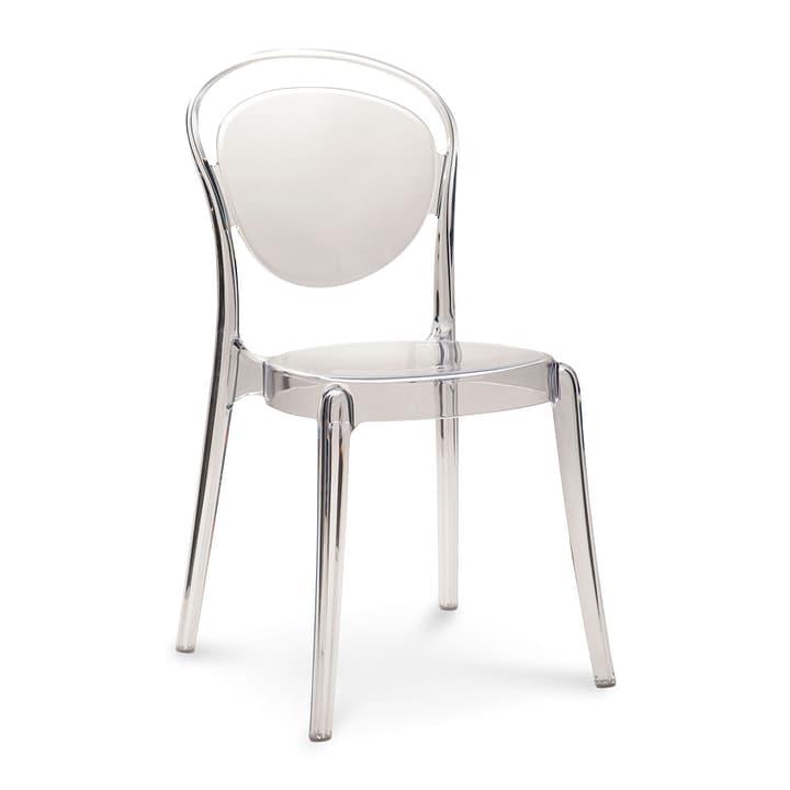 PARISIENNE Chaise transparente 366031700000 Dimensions L: 46.5 cm x P: 53.5 cm x H: 86.5 cm Couleur Transparent Photo no. 1