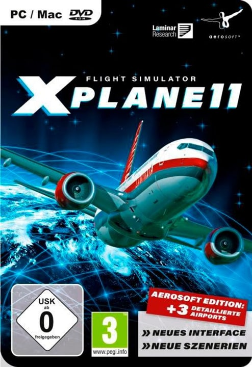 PC/Mac - Flight Simulator X-PLANE 11 Fisico (Box) 785300121922 N. figura 1