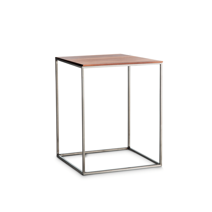 COFFEE table d'appoint 362231200000 Colore Noce Dimensioni L: 40.0 cm x P: 40.0 cm x A: 51.0 cm N. figura 1