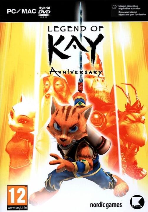 PC - Legend of Kay - Anniversary [DVD] (F) Box 785300135862 Photo no. 1