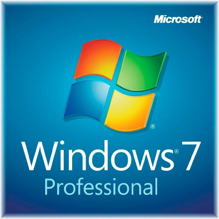 PC - Windows 7 Professional OEM inkl. Service Pack 1 Physisch (Box) Microsoft 785300125149 Bild Nr. 1
