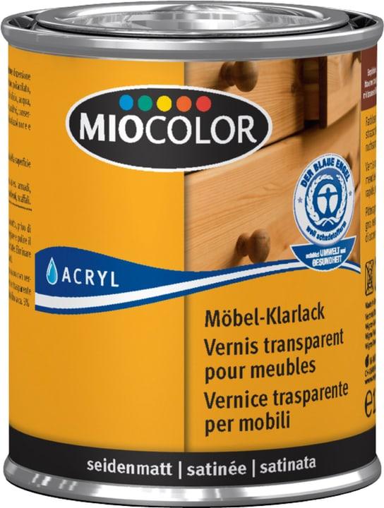 Vernice trasparente per mobili opaco Incolore 125 ml Miocolor 676780000000 Colore Incolore Contenuto 125.0 ml N. figura 1