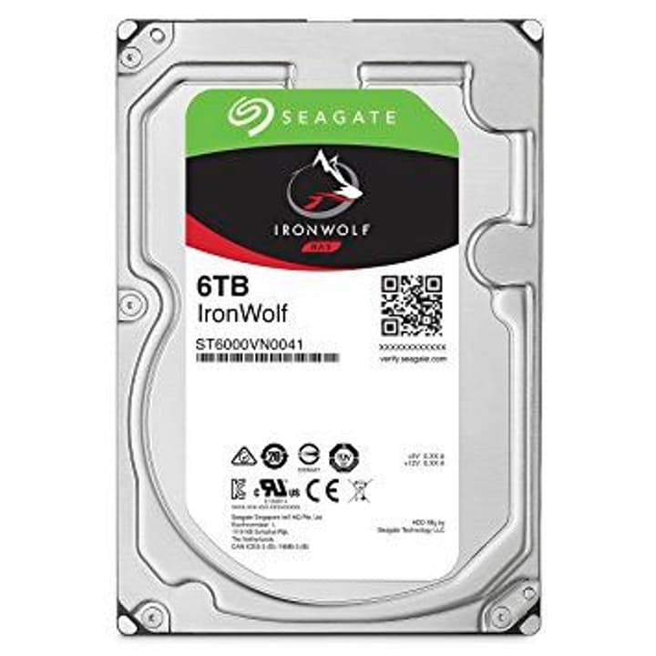 "IronWolf 6To disque dur interne SATA 3.5"" HDD NAS Seagate 785300126752 Photo no. 1"