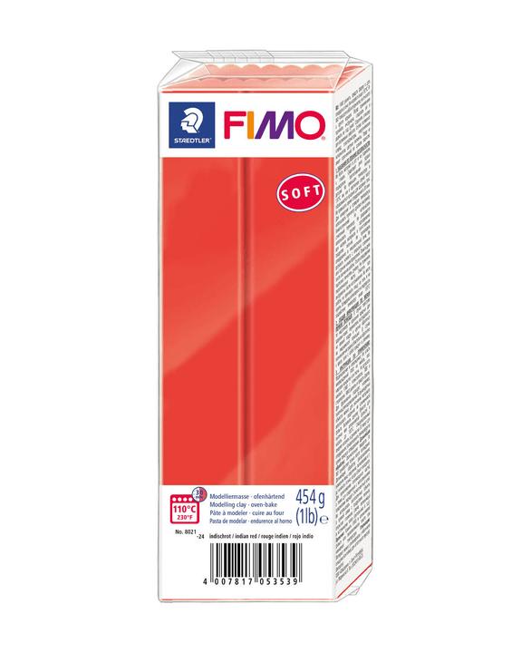 FIMO Soft Grossblock indischrot Fimo 666930700000 Bild Nr. 1