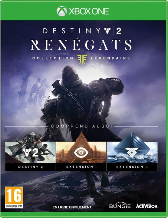Xbox One - Destiny 2 - Renégats Collection Légendaire (F) Box 785300138132 Langue Français Plate-forme Microsoft Xbox One Photo no. 1