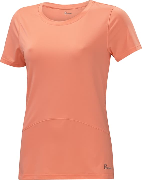 Shirt pour femme Perform 464914403852 Couleur saumon Taille 38 Photo no. 1
