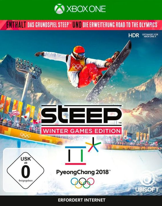 Xbox One - Steep - Winter Games Edition (D/F/I) Fisico (Box) 785300131410 N. figura 1