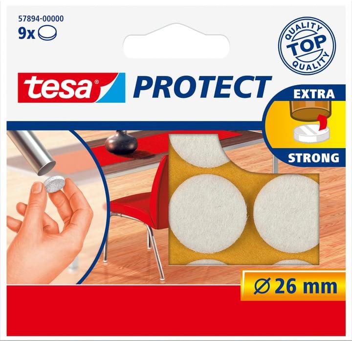 Feutres anti-rayures ronds, blanc, 26mm Tesa 663079400000 Photo no. 1