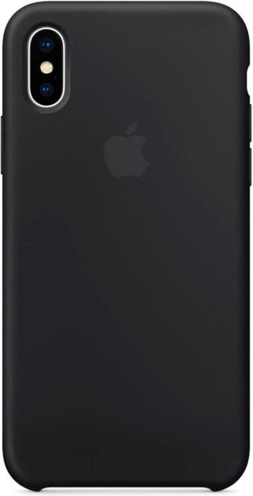 iPhone X Silicone Case Black Custodia Apple 798417300000 N. figura 1