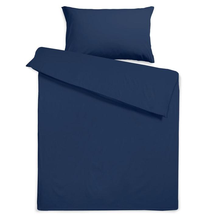 KOS Federa per piumino raso 376076712443 Dimensioni L: 240.0 cm x L: 160.0 cm Colore Medieval blue N. figura 1