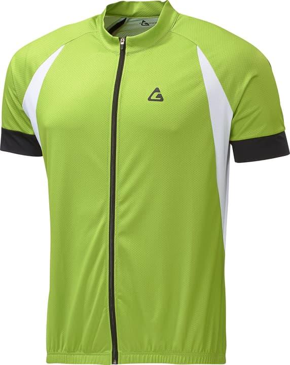 Maillot à manches courtes pour homme Crosswave 461355800662 Couleur vert neon Taille XL Photo no. 1