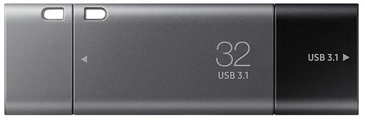 USB-C 3.1 Duo Plus 32GB Clé USB Samsung 798272300000 Photo no. 1
