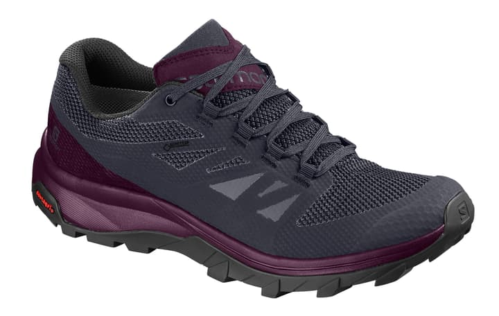 Outline GTX Damen-Multifunktionsschuh Salomon 462992839045 Farbe violett Grösse 39 Bild-Nr. 1