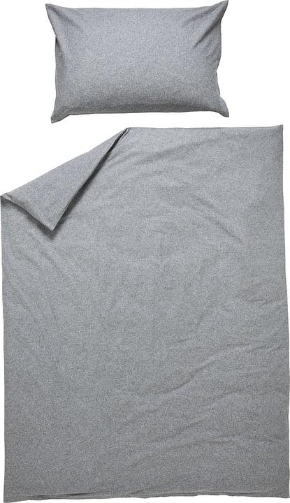 NINO Federa per cuscino in flanella 451292810688 Colore Grigio Dimensioni L: 65.0 cm x A: 65.0 cm N. figura 1