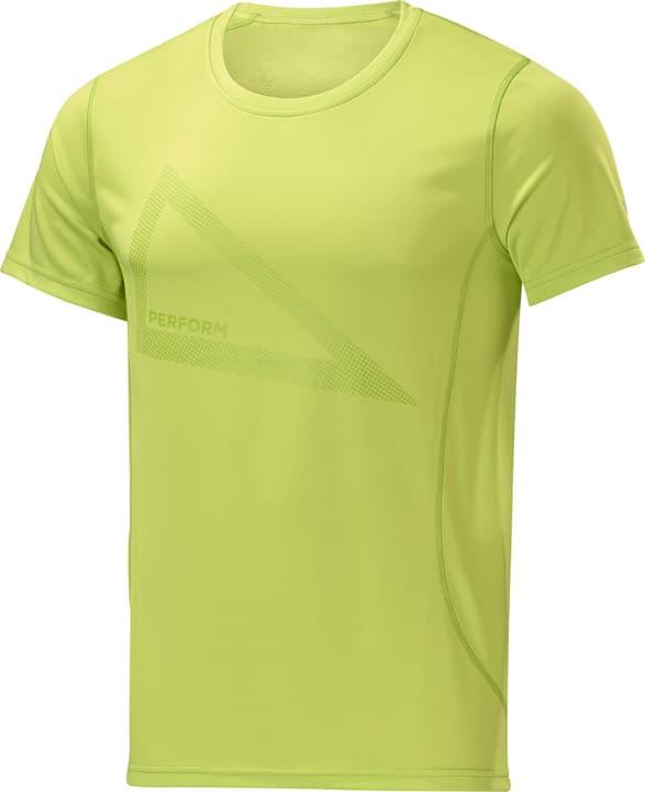 T-Shirt Print Shirt pour homme Perform 470147700361 Couleur vert clair Taille S Photo no. 1