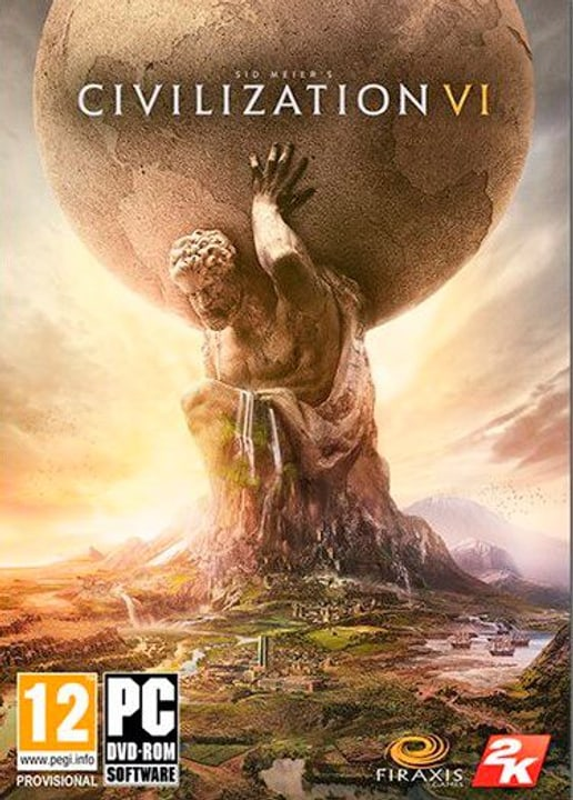 PC - Sid Meiers Civilization VI Gold Edition Download (ESD) 785300141181 N. figura 1