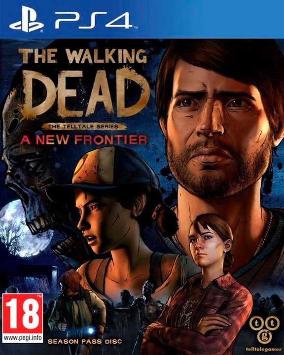 PS4 - The Walking Dead - The Telltale Series: A New Frontier Physique (Box) 785300121455 Photo no. 1