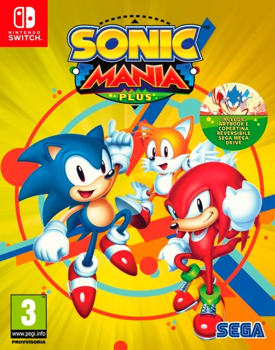 Switch - Sonic Mania Plus (I) Physisch (Box) 785300135199 Bild Nr. 1