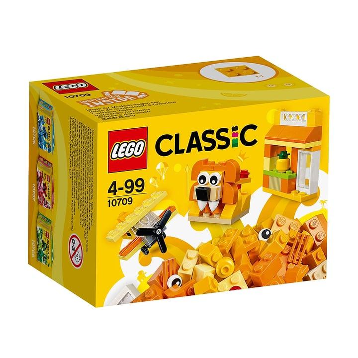 LEGO Classic Boîte de construction orange 10709 748824100000 Photo no. 1
