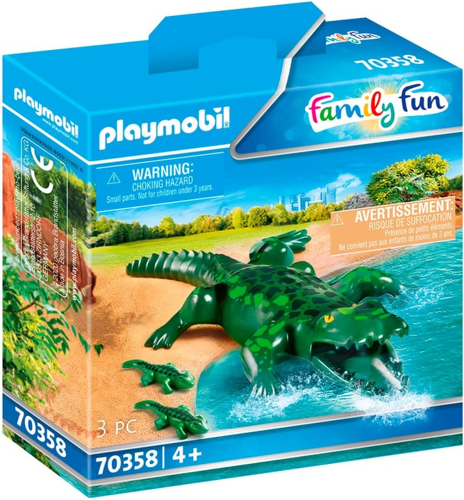 PLAYMOBIL 70358 Alligator avec ses p 748030800000 Photo no. 1