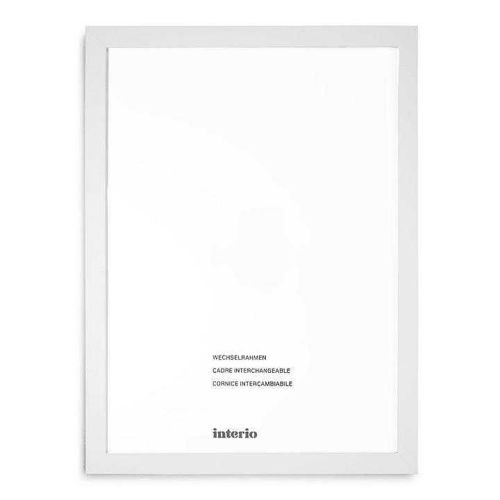 QUADROLINO Cornice 384007100000 Dimensioni quadro 70 x 100 Colore Bianco N. figura 1