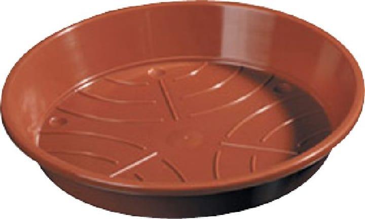 Sottovaso in materia sintetica 659445600000 Colore Marrone Taglio ø: 10.0 cm N. figura 1