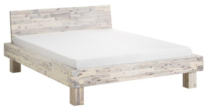 CORELLE Bett 404434500000 Farbe Akazie lasiert weiss Grösse B: 160.0 cm x T: 200.0 cm Bild Nr. 1