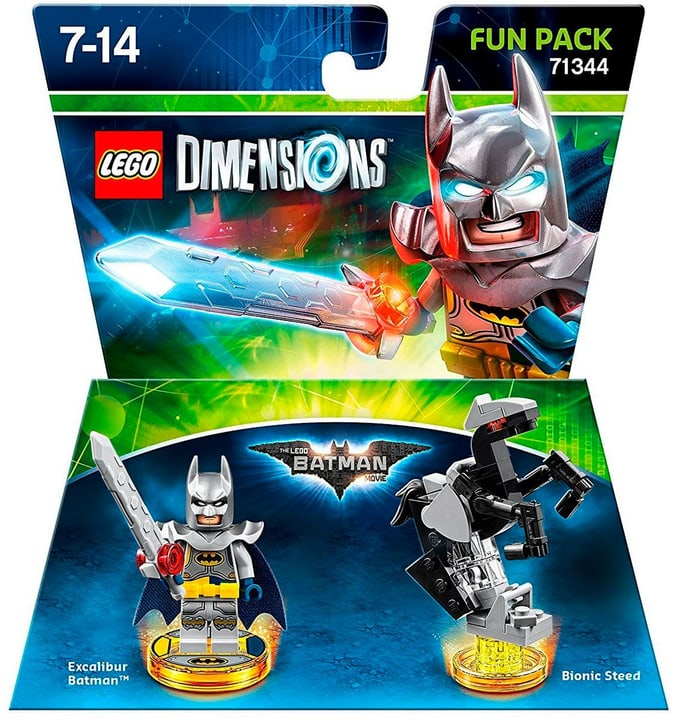 LEGO Dimensions - Fun Pack - LEGO Batman Movie Physisch (Box) 785300121735 Bild Nr. 1