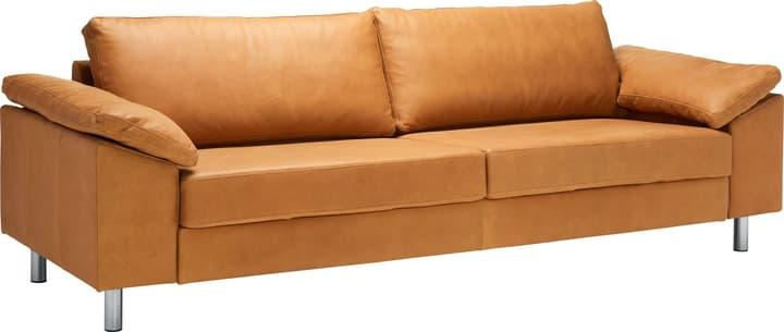 DIENER Canapé 3 places 405729100000 Dimensions L: 241.0 cm x P: 92.0 cm x H: 81.0 cm Couleur Cognac Photo no. 1