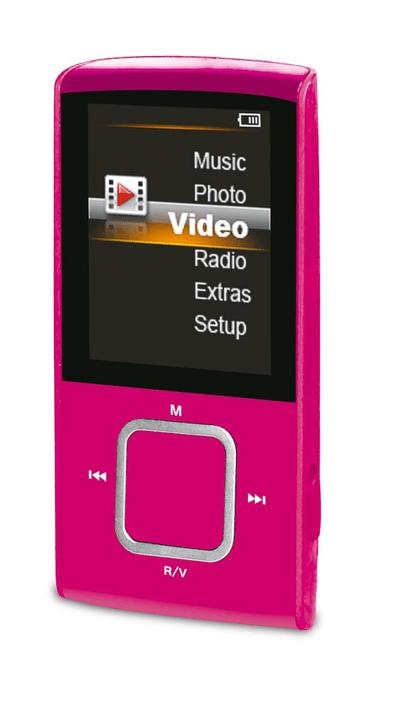 A8 Lettore MP3 rosa Durabase 773557700000 N. figura 1