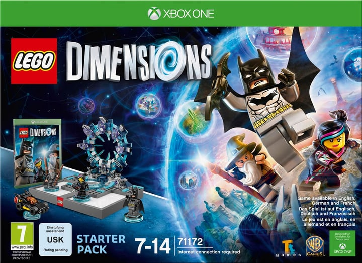 XBox One - LEGO Dimensions Starter Pack Box 785300119834 Bild Nr. 1
