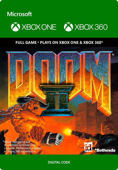 Xbox One - Doom II Download (ESD) 785300136716 N. figura 1