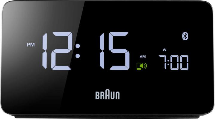 BNC020BK Bluetooth Wecker Braun 761138500000 Bild Nr. 1
