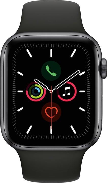 Watch Series 5 LTE 44mm space gray Aluminium Black Sport Band Smartwatch Apple 785300146919 Photo no. 1