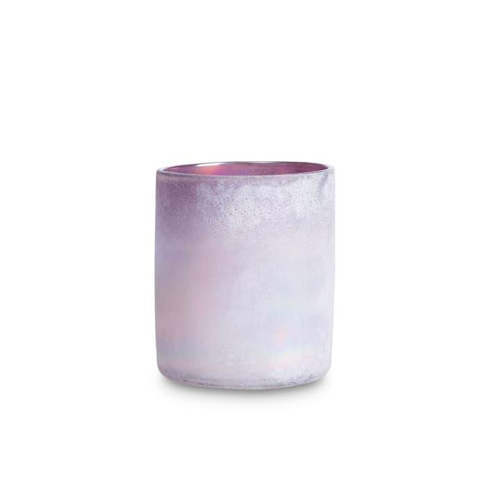 FROSTED Portacandele scaldavivande 396064100000 Dimensioni L: 12.0 cm x P: 12.0 cm x A: 14.0 cm Colore Viola N. figura 1