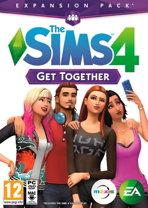PC - The Sims 4 Get together Physisch (Box) 785300120345 Bild Nr. 1