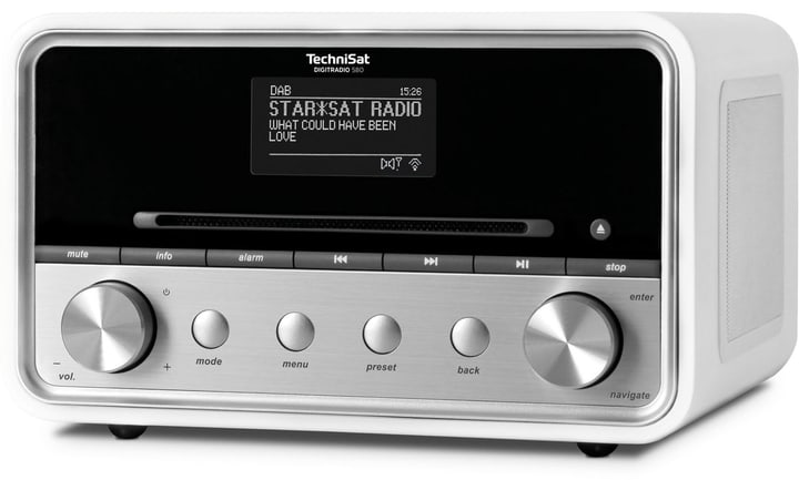 DigitRadio 580 - Bianco Radio DAB+ Technisat 785300134725 N. figura 1