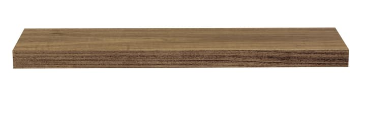 DONAU Wandtablar 407503509031 Grösse B: 90.0 cm x T: 22.0 cm x H: 5.0 cm Farbe Nussbaum Bild Nr. 1