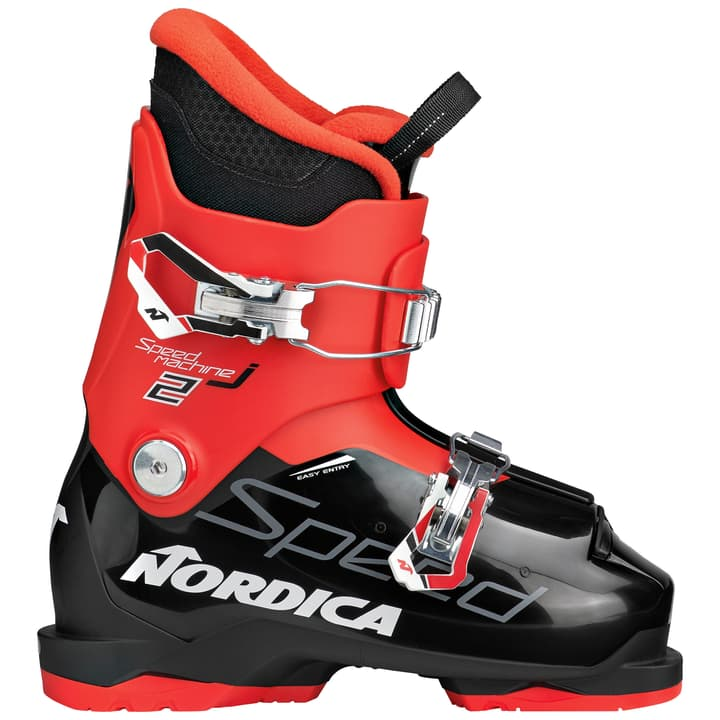 Speedmachine J 2 Kinder-Skischuh Nordica 495311119520 Farbe schwarz Grösse 19.5 Bild-Nr. 1